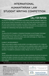 Poster for IHL Student Writing Comp 2013 Green 9