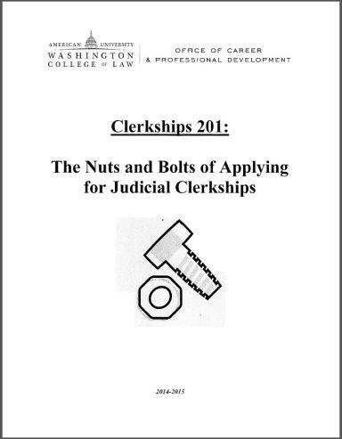 Clerkships 201 Handout